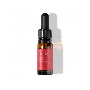 CBD olej 15%, 1500 mg, prírodný, 10 ml