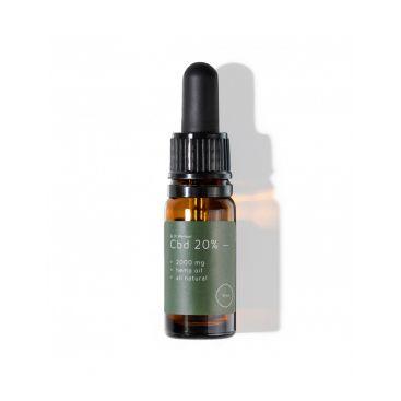 CBD olej 20%, 2000 mg, prírodný, 10 ml