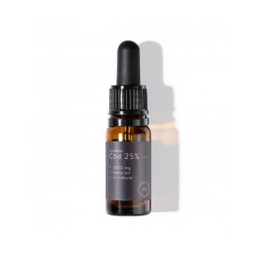 CBD масло 25%, 2500 mg, натурално, 10 ml